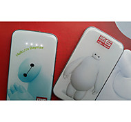 Cute Baymax Mobile Power Polymer Thin Mobile Power Charging Power Treasure Universal