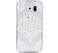Corners Diamond Pattern Transparent PC Material Phone Case for Samsung GALAXY S6 /S6 edge/S5/S3Mini/S4Mini/S5Mini