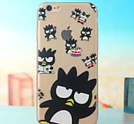 Super Thin Bread Superman Cool Penguin TPU Soft Shell for iPhone 6 Plus(Assorted Colors)