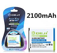ji de alta capacidad 2100mah 3.8v batería de repuesto del li-ion para la galaxia i939 i9260 i9268 i9300 versión coreana