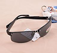 Unisex 's Foldable Rectangle Sunglasses