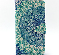 Blue and White Pattern PU Leather Phone Case For G355/G357/G360/G386F/G850F/G3500/G5308