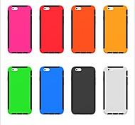 bonne qualité de conception spéciale pc silicone cas incassable couverture arrière pour iPhone 5 (couleurs assorties)