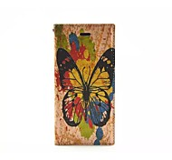 Peony pattern TPU/PU Leather Wallet Case/Case with Kickstand/Full Body Case for iPhone 6 Plus