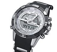multi-fonctionnelle montre-bracelet de style militaire montre lumineuse des hommes