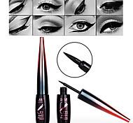 Black Waterproof Quick Drying Charming Liquid Eyeliner with Super Thin&Soft Brush