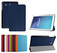 pelle dengpin pu 9.6 '' pollici tablet copertura custodia protettiva per Samsung galaxy tab 9.6 e sm-T560 561 (colori assortiti)
