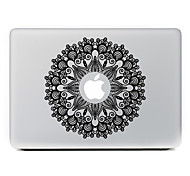 Circular Flower 3 Decorative Skin Sticker for MacBook Air/Pro/Pro with Retina Display