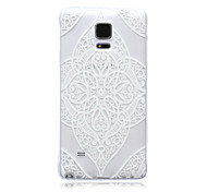 Transparent Beautiful TPU Soft Back Case for Samsung Galaxy Note 5/Note 5 Edge/Note 3/Note 4
