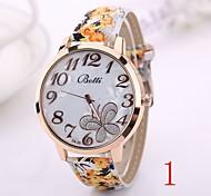 2015 neue Mode Frauen kleiden Armbanduhrweinlese Quarz-analoge Uhr neuen Armband-Quarz-Leder-Armbanduhr xr1229
