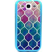 pink blue Diamantmuster TPU Acryl weiche Tasche für Samsung-Galaxie S3 / S4-Galaxie / galaxy s5 / galaxy S6 / S6 Galaxie Rand
