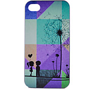 Dandelion Pattern PC Material Phone Case for iPhone 4/4S