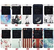 Klappdeckel stehen auf der rechten farbige Zeichnung weisepu Handy Shell für Samsung-Anmerkung 5 verschiedenen Farben geöffnet