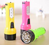 Torce LED - LED - Campeggio/Escursionismo/Speleologia/Uso quotidiano/Caccia - Ricaricabile 1 Modo 12 Lumens LED DC