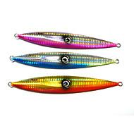 """Cebo metálico 3 pcs , 250g g / > 1 Onza , 195 mm / 6-1/2"""" / 7-3/4"""" pulgada Colores Aleatorios Metal / PlomoPesca de Mar / Pesca de Cebo /"""