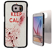 Keep Calm Design Aluminum High Quality Case for Samsung Galaxy S6 SM-G920F