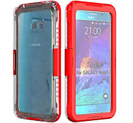 Waterproof Case Dustproof Shockproof Hard Armor Protective Cover Case Case for Samsung Galaxy Note 5  (Assorted Colors)