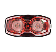 2-Eyes Bike Bicycle 3-Mode Red Light LED Safety Warning Signal Lamp Taillight
