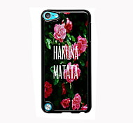 Hakuna Matata Design Aluminum High Quality Case for iPod Touch 5