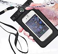 компас доказательство воды дайвинг сумка для iPhone4 4S 5 5s портативных открытый Водонепроницаемый чехол