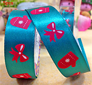 5pcs Silk Tape Gloves Santa on Christmas