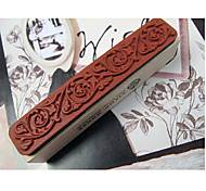 DIY Scrapbooking Vintage Wood Stamps Lace Stamp Decoration Stamp Printing Stamp