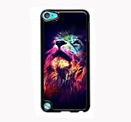 The Lion Look Up Design Aluminum High Quality Case for iPod Touch 5
