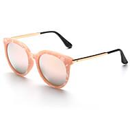 Sunglasses Women's Modern / Fashion Browline Black / Silver / Gold Sunglasses Full-Rim
