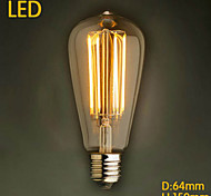 Ecolight® Ecolite TM E27 LED 4W 3700K Warm White Loft Retro Industry Bulb LED Edison Bulb (AC220~265V
