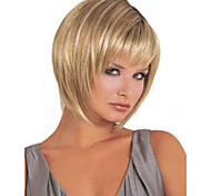 Fashion Women Lady Short Synthetic Hair Wigs Blonde Mix Hair Wig