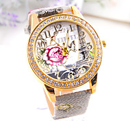 freeshipping 4colors retro Eiffel Tower  Hot sell Women's punk Diamond Watch