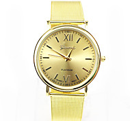 Men And Woman Alloy Mesh Belt Fashion Watches Wrist Watch Cool Watch Unique Watch