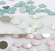 50PCS 3mm Post Opal Rhinestone Nail Art Decoration(Three Color Select)