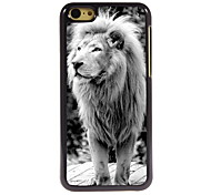 The Lion Design Aluminum High Quality Case for iPhone 5C