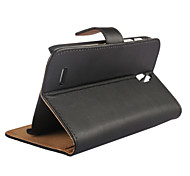 Genuine Leather Wallet Style Case for Huawei G610