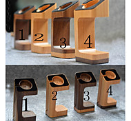 Wooden Apple Watch Stand Holder Charging Dock iWatch Docking Station