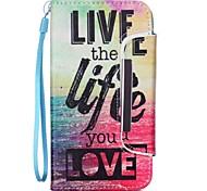 Lebensmuster zwei-in-one-PU-Leder für Samsung Galaxy Note 3