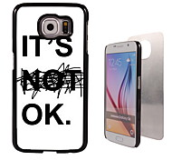 It's OK Design Aluminum High Quality Case for Samsung Galaxy S6 SM-G920F