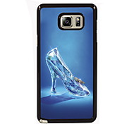 Glass Slippers Design Slim Metal Back Case for Samsung Galaxy Note 3/Note 4/Note 5/Note 5 edge