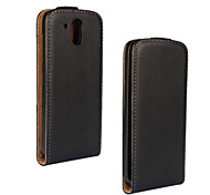 For HTC Case Pattern Case Full Body Case Solid Color Hard PU Leather HTC