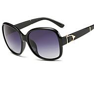 Sonnenbrillen mujeres's Elegant / Modern / Polarisierte überdimensional Schwarz / Weiß / Braun Sonnenbrillen Vollrandfassung