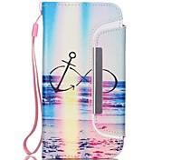 gemalt 8 Muster zwei-in-one-PU-Leder für iPhone 6