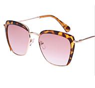 Sonnenbrillen mujeres's Elegant / Modern / Modisch Quadratisch Gold Sonnenbrillen Vollrandfassung