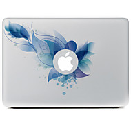 Blue Flower Decorative Skin Sticker for MacBook Air/Pro/Pro with Retina Display