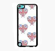 Union Jack Design  Aluminum High Quality Case for iPod Touch 5