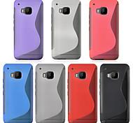 angibabe caso ultra sottile TPU per HTC copertura del telefono uno m9 (colori assortiti)