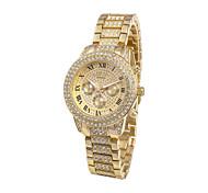 Frauen-Charme-Uhr-Quarz-Quarz-Armbanduhr (farbig sortiert)