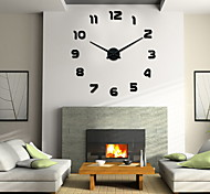 Uermerstar Modern Style 3D DIY Large Wall Clock Diameter 39 in