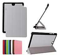 dengpin pu lederen tablet beschermende case cover met standaard voor Samsung Galaxy Tab een 9.7 T555 (verschillende kleuren)