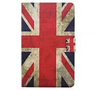 British Flag Pattern PU Leather Full Body Case with Stand Slot for Galaxy Tab E 9.6 T560